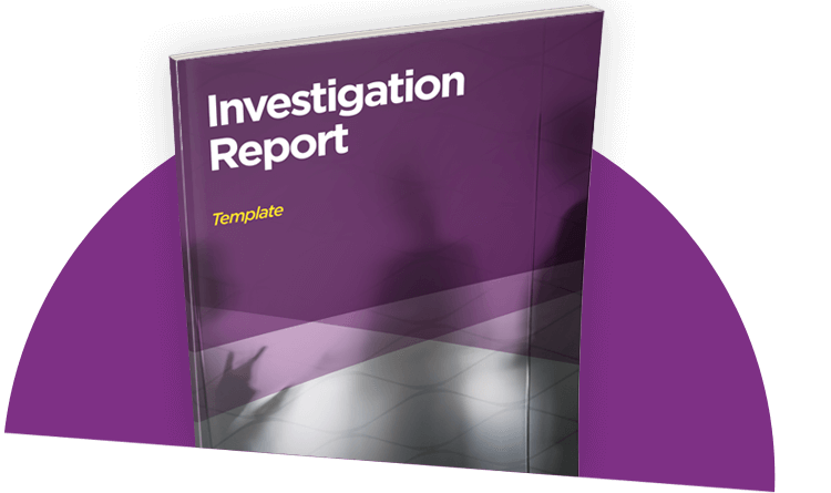 Investigation Report Template Guides Investigator Reporting – Investigation Report Template