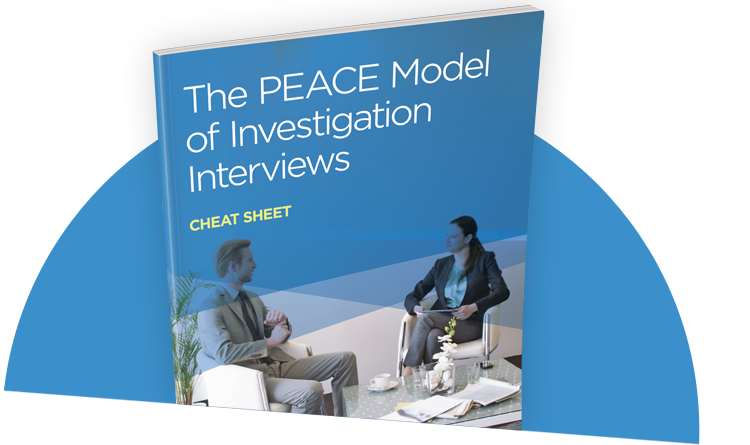 the peace investigative interviewing The review outlines the efforts made by police and psychologists in recent decades to: convey the importance of investigative interviewing understand what happens in an investigative interview use psychological theories and research to find out what makes a successful interview examine the effectiveness of various skills and techniques find.