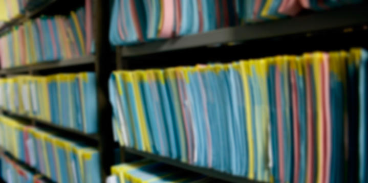 Shelves of other forms and templates