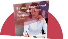 Sexual Harassment complaint form template thumbnail