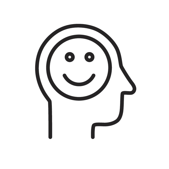 human-happy-brain-icon