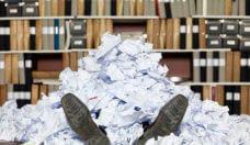 HR drowning in paperwork