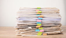 pile of investigation reports