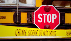 Violence in School Bus Crime Scene