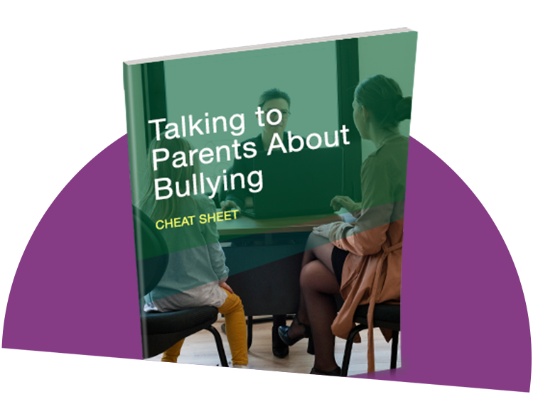 Talking to Parents about Bullying Cheat Sheet