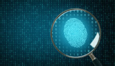 Biometrics and computing backdrop